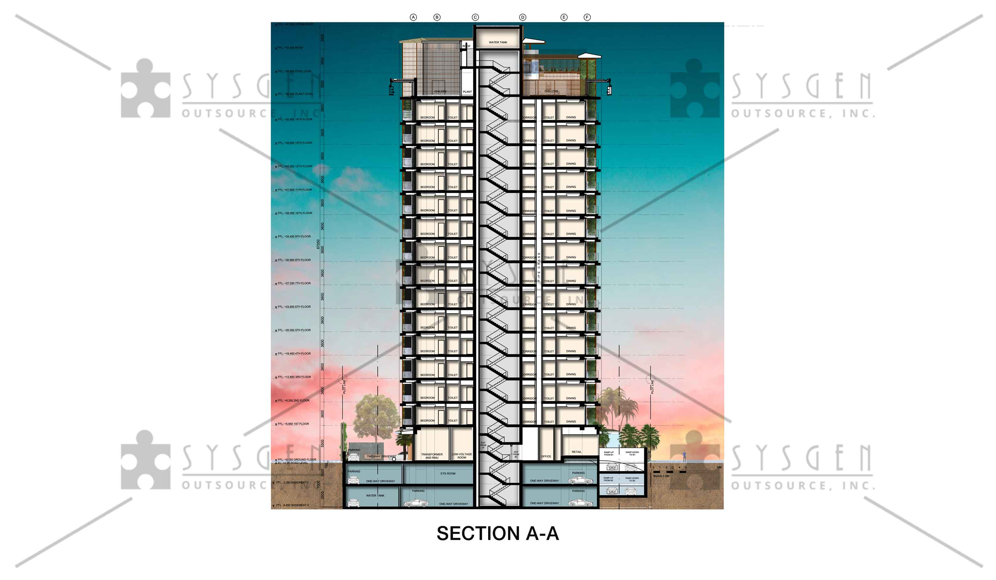 sysgen-outsource-cad-outsourcing-services-sketch-up-apartment8