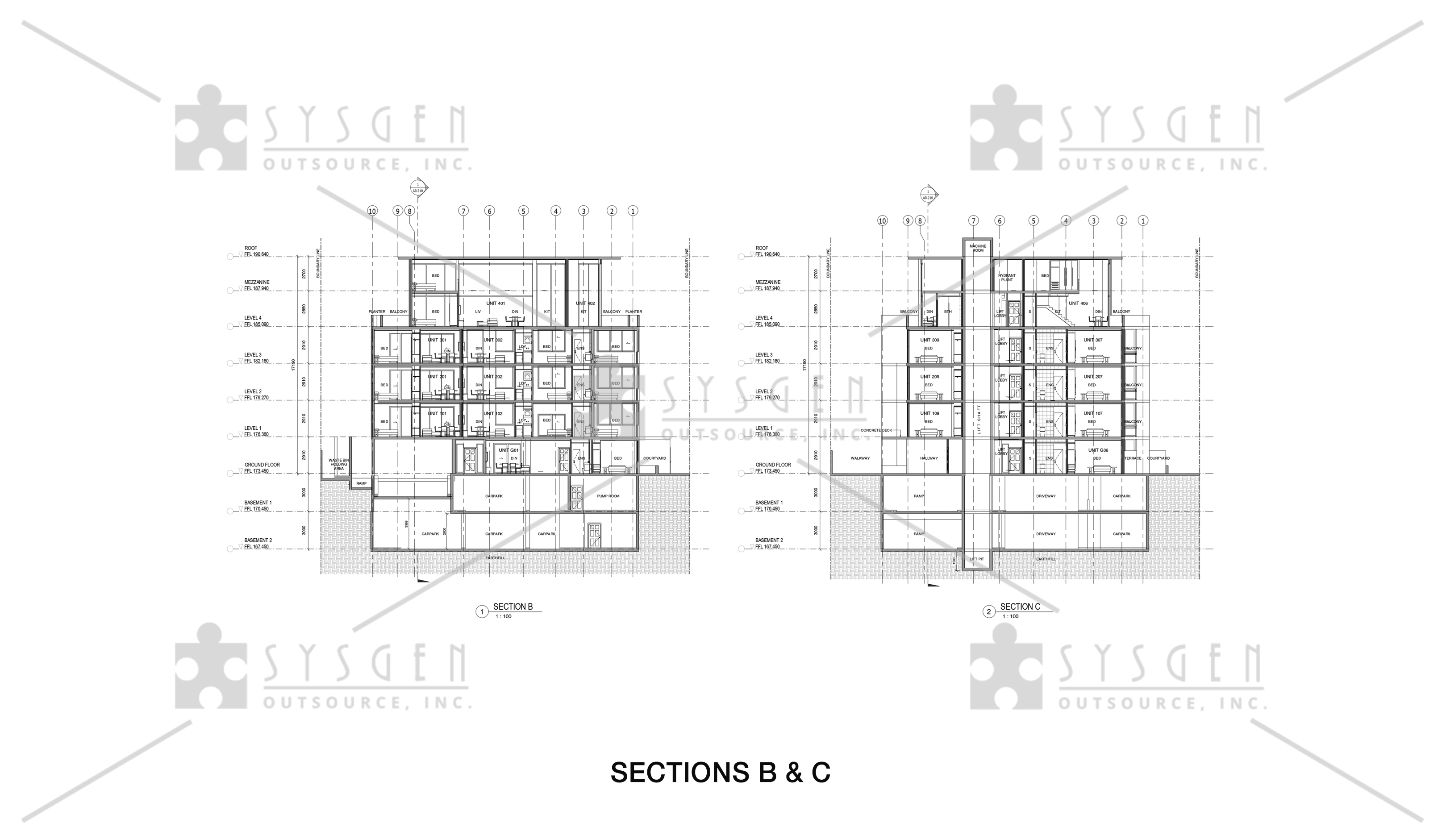 sysgen-outsource-cad-outsourcing-services-cad-conversion-revit-4-storey-residential13