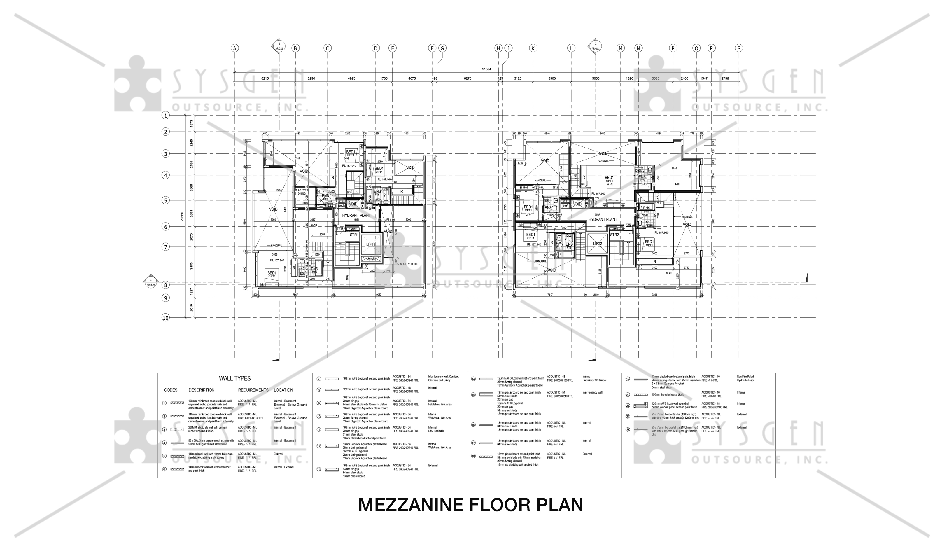 sysgen-outsource-cad-outsourcing-services-cad-conversion-revit-4-storey-residential9